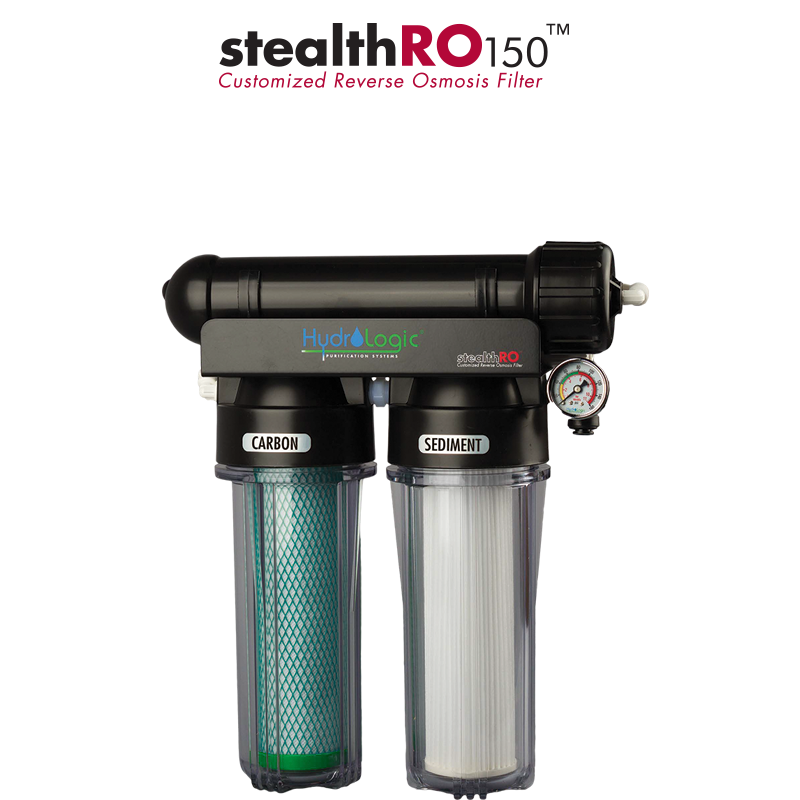 HYDROLOGIC STEALTHRO150 W/CARBON FILTER