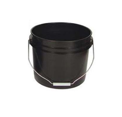 Bucket Black 3.5 Gallons