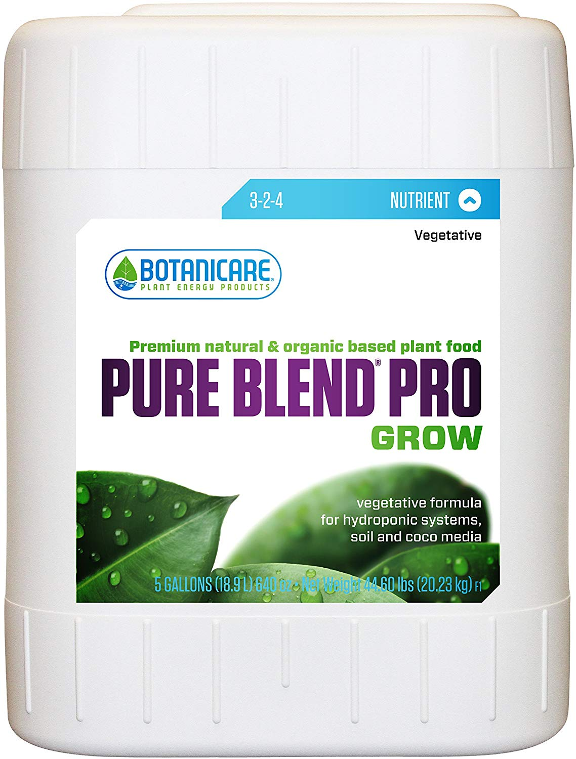 Pure Blend Pro Grow 10 Litres - NA0158GS
