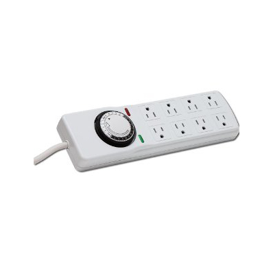 Heavy Duty Power Strip with Timer and Surge Protector 8 Outlet