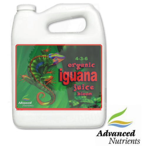 ORGANIC IGUANA JUICE BLOOM 4 L