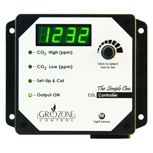 Grozone CO2R CO2 Controller 2 Outputs 0-5000PPM