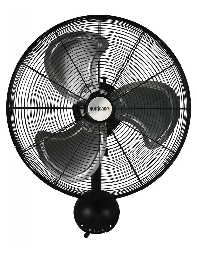 HURRICANE PRO HIGH VELOCITY OSCILLATING METAL WALL FAN 20 IN
