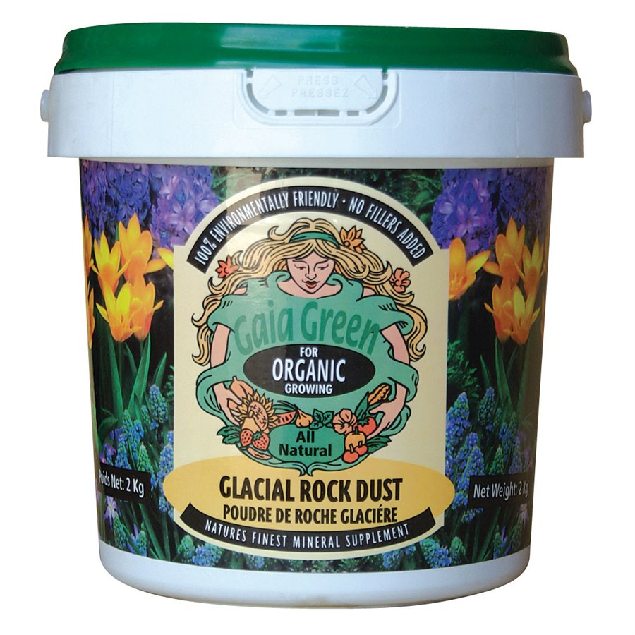 GAIA GREEN GLACIAL ROCK DUST 2KG