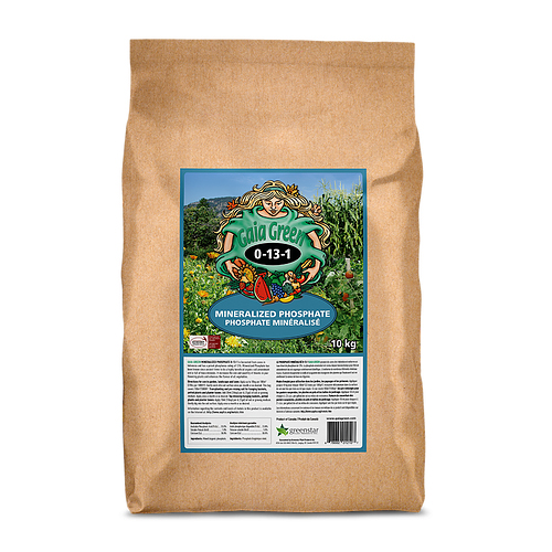 GAIA GREEN MINERALIZED PHOSPHATE 10 KG (FOSS. GUANO)