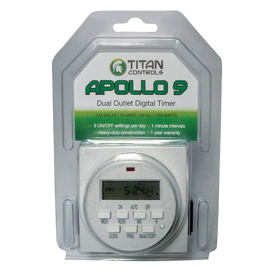 TITAN CONTROL APOLLO 9 - 2 OUTLET