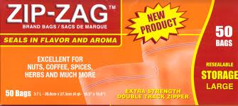 Zip Zag Original Large Bags (50 Pieces)