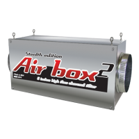 AIR BOX 2 STEALTH EDITION 800CFM 6""