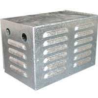 Ballast Box With Louvers