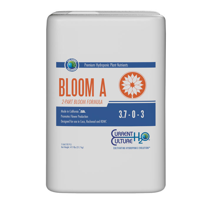 CURRENT CULTURE CULTURED SOLUTIONS BLOOM A 5 GALLON