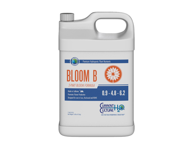 CURRENT CULTURE CULTURED SOLUTIONS BLOOM B 5 GALLON