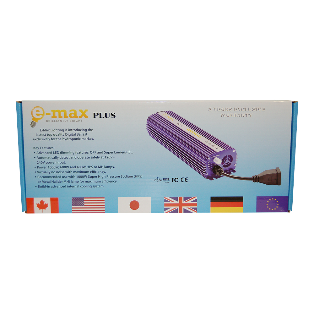 E-Max Plus Digital Ballast 1000watts - BA0003XX
