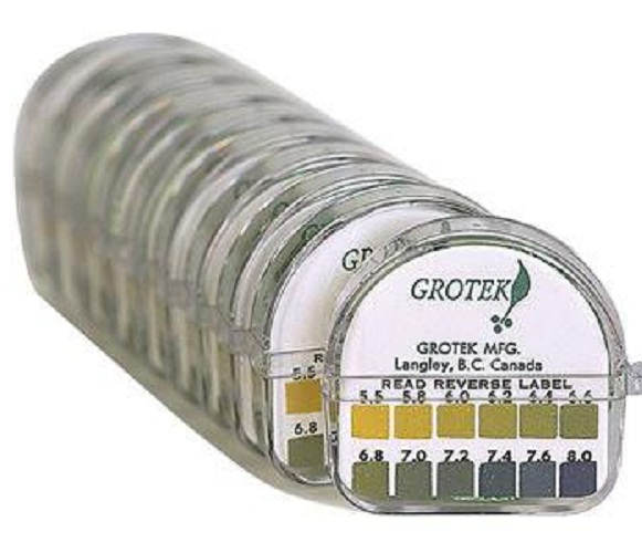 GROTEK PH TEST STRIPS