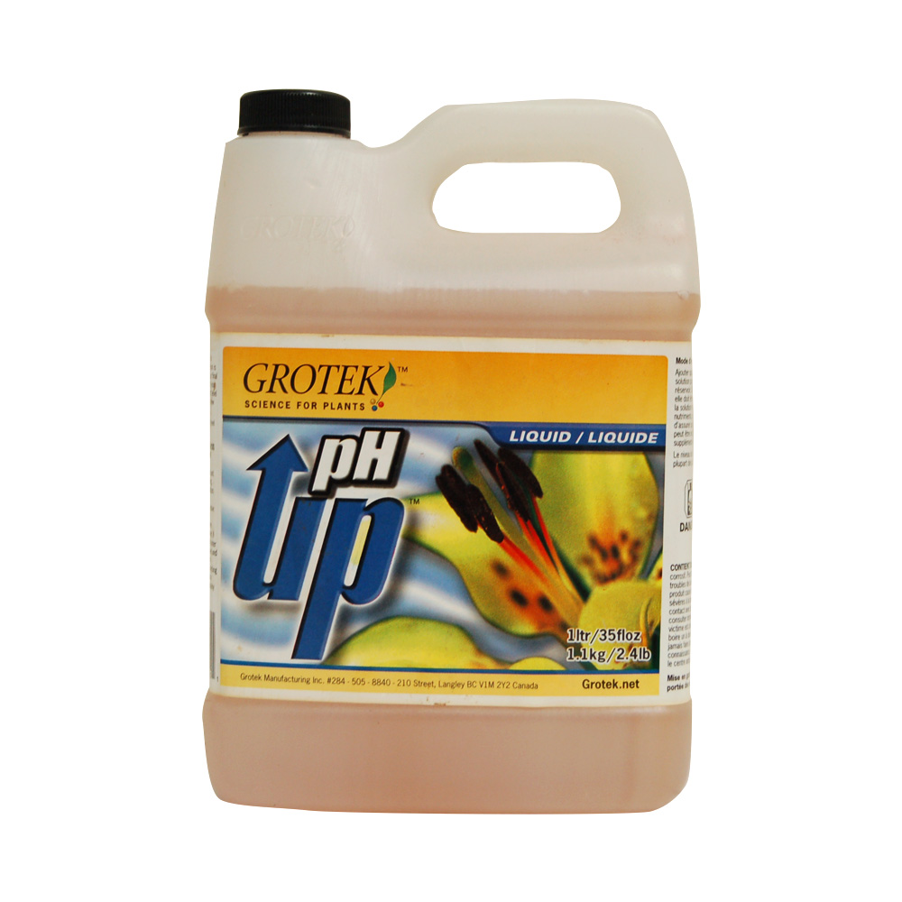 Grotek pH up (1 Quart) CLEARANCE SALE! - CI0003XX