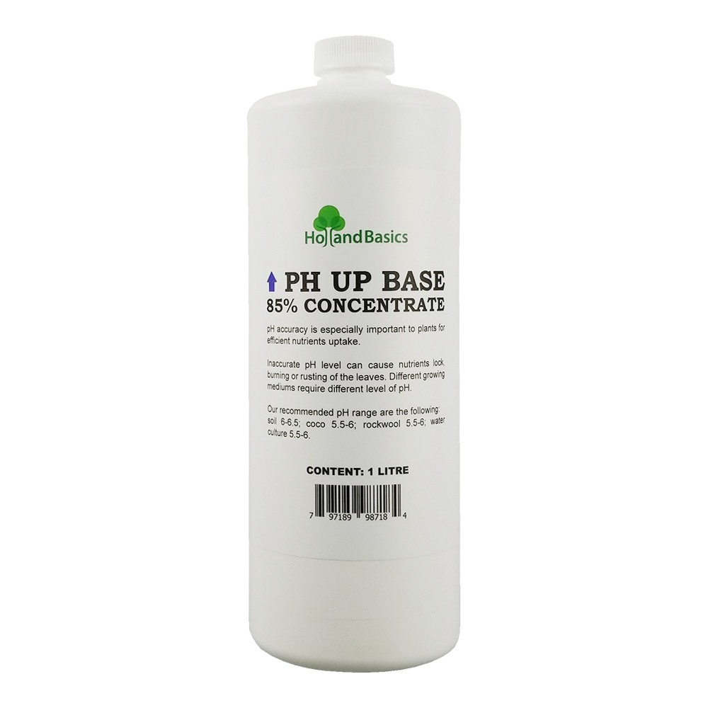 HollandBasics pH Up Base 85% Concentrate 1 Litre