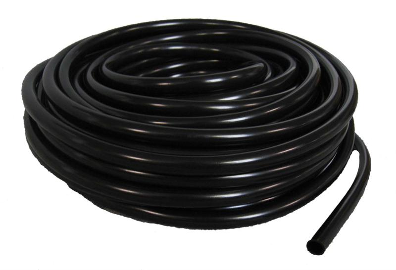"1/2"" Potami Black Vinyl Tubing 100' Roll"