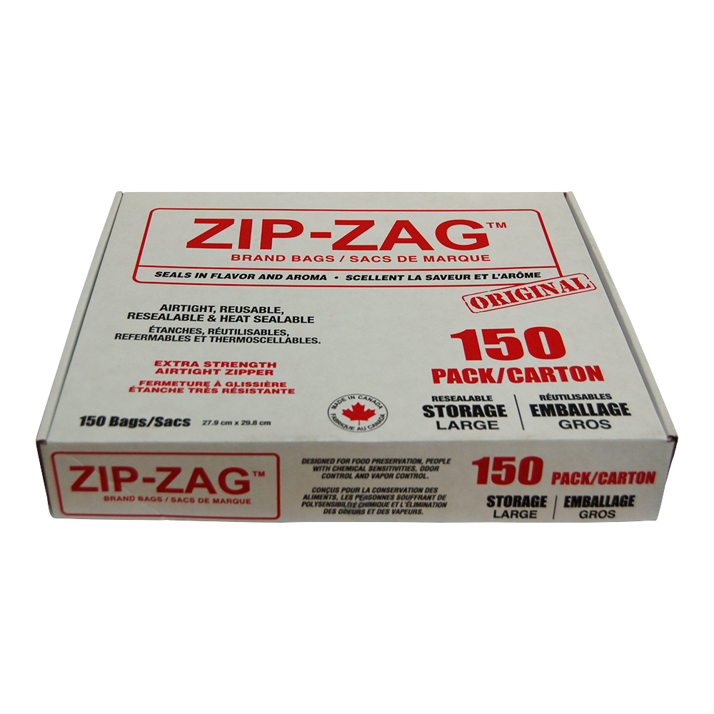 Zip Zag Original Large Bags (150 Pieces)
